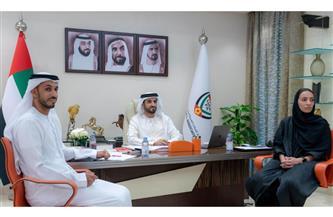 رئيس اتحاد الإمارات لكرة القدم  يبحث مع نظيره الصينى تبادل الخبرات