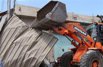 رفع 50 حالة إشغال طريق من شوارع وسط بالإسكندرية