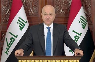 الرئيس العراقي يؤكد ضرورة التنسيق لإرساء أمن واستقرار المنطقة ومكافحة الإرهاب