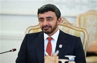 وزيرا خارجية الإمارات واليونان يبحثان تطورات الأوضاع بالشرق المتوسط