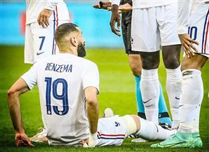 إصابة كريم بنزيما وخروجه من مباراة فرنسا وبلغاريا