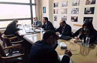 انعقاد المشاورات السياسية بين مصر ونيوزيلاندا عبر الفيديو كونفرانس|صور