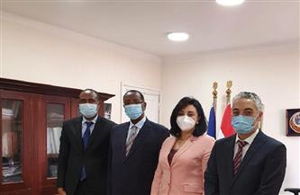 نائبة وزير السياحة والآثار تجتمع مع سفير دولة رواندا بالقاهرة