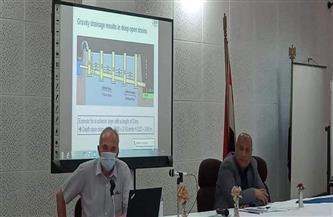 دورة تدريبية في طنطا لتطوير تصميم وصيانة شبكات الصرف   صور