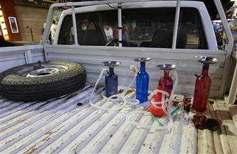 مصادرة 38 شيشة خلال حملة على مقاهي البحيرة