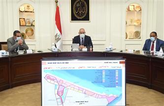 وزير الإسكان يتابع الموقف التنفيذى لمشروعات المرحلة العاجلة بمدينة رشيد الجديدة | صور