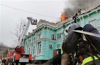 مقتل 3 أشخاص بحريق في مستشفى وسط روسيا