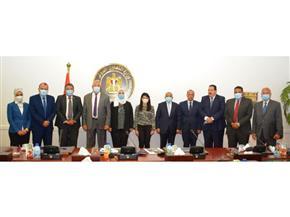 4 وزراء يبحثون دعم جهود الدولة للاستثمار في رأس المال البشري