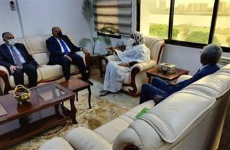 جلسة مباحثات موسعة بين وزراء الخارجية والري في مصر والسودان بالخرطوم |صور