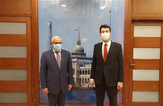 محافظ بورسعيد يستقبل سفير جمهورية كوريا لدى مصر| صور