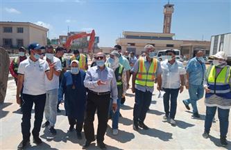 رئيس مياه الإسكندرية يتابع سير الأعمال بمحطات المنشية 1 و2 وشرقي |صور