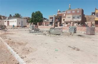 استمرار أعمال التطوير بشاطئ وكورنيش القصير| صور