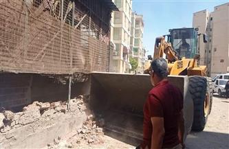 محافظ بورسعيد: تنفيذ حملة مكبرة لإزالة الإشغالات والتعديات| صور