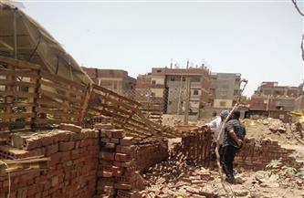 إزالة تعديات على الحيز العمراني وأراض زراعية بمدينة أجا في الدقهلية  صور