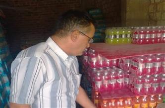 ضبط 1500 قطعة حلوى أطفال منتهية الصلاحية بأحد المخازن بالأقصر  صور
