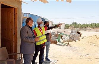 رئيس مدينة برج العرب يجري جولة ميدانية| صور