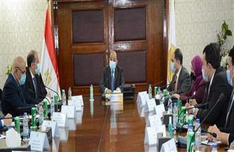 وفد التنسيقية يلتقي وزير التنمية المحلية لمناقشة أهم الملفات التي تشغل الشارع المصري  صور