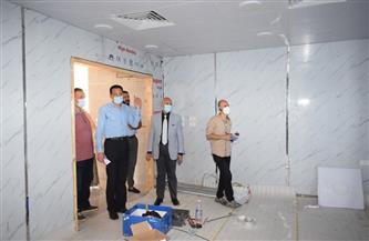 وكيل الصحة بالشرقية يتفقد أعمال التطوير بمستشفى الزقازيق العام   صور
