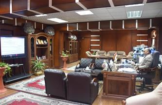 رئيس جامعة الأقصر يشارك في اجتماع المجلس الأعلى لشئون خدمة المجتمع |صور