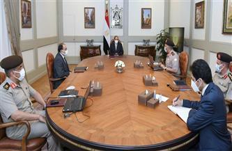 تفاصيل اطلاع الرئيس السيسي على الموقف الإنشائي والهندسي لعدد من مشروعات الهيئة الهندسية