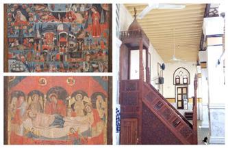 أربع أيقونات وثلاثة منابر في عداد الآثار الإسلامية والقبطية واليهودية | صور