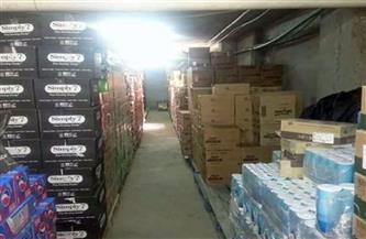 ضبط 556 كليو مواد غذائية منتيهة الصلاحية في حملة صحية بأسوان