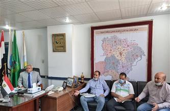 رئيس شركة مياه المنوفية يجتمع برؤساء القطاعات لمناقشة آلية تحسين الخدمة | صور