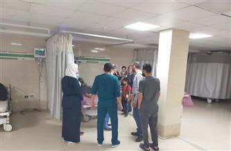 مرور مفاجئ على مستشفى برج البرلس المركزي للتأكد من انتظام العمل بها | صور