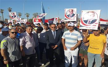 شمال-سيناء-تحتفل-بذكرى-ثورة--يونيو-بماراثون-ومهرجانات-شبابية- صور