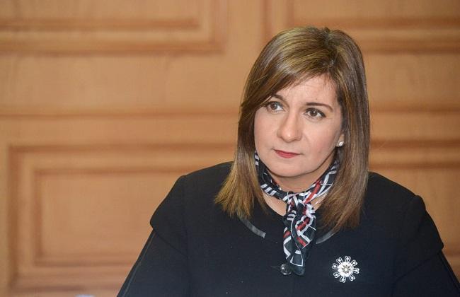 وزيرة الهجرة المصريون بالخارج يتسارعون للمشاركة في  حياة كريمة