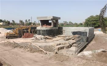 40.3 مليون جنيه لتنفيذ مشروع الصرف الصحي بقرية الشيخ رحومة بسوهاج | صور