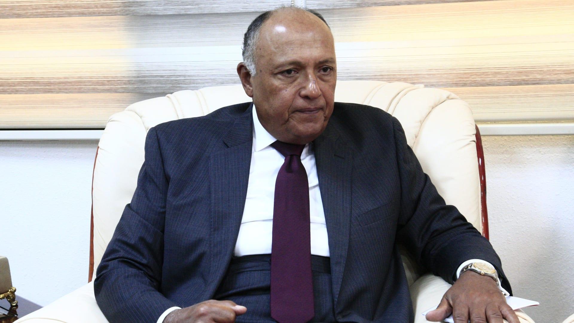 سامح شكري يعقد جلسة مباحثات ثنائية مع نظيره الكونغولي غدًا