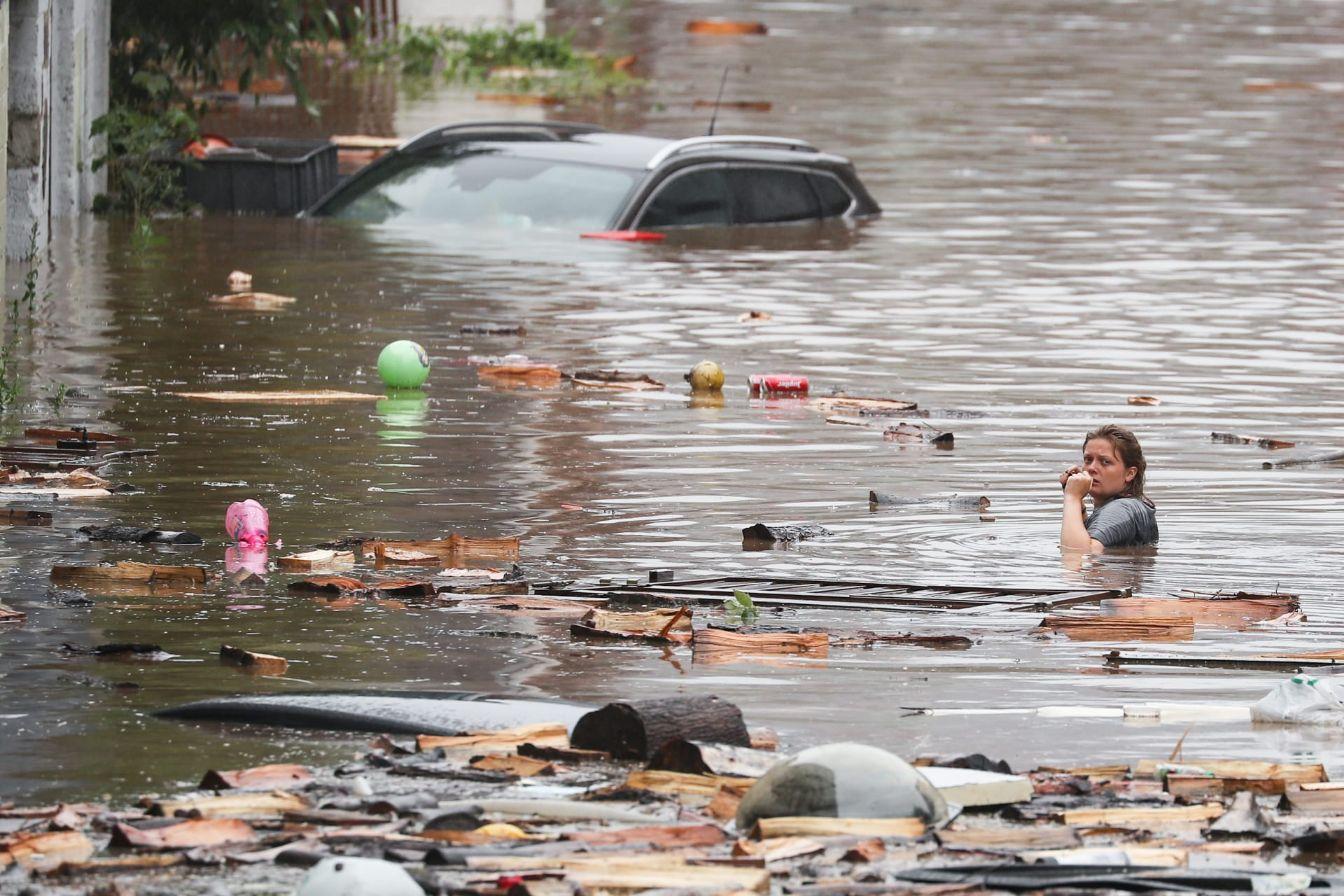ارتفاع ضحايا الأمطار الغزيرة لـ شخصا في شمال غرب فنزويلا