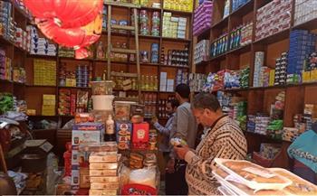 تحرير 12 محضرًا تموينيًا لتجار بمركز كوم حمادة