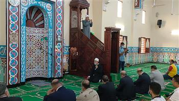 محافظ-شمال-سيناء-يؤدى-صلاة-عيد-الأضحى-المبارك-فى-مسجد-آل-ياسر-بالعريش