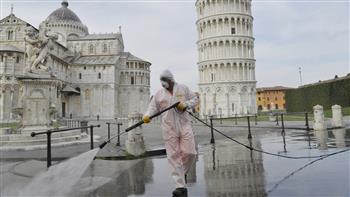 احتجاجات ضد قواعد كورونا المشددة في إيطاليا