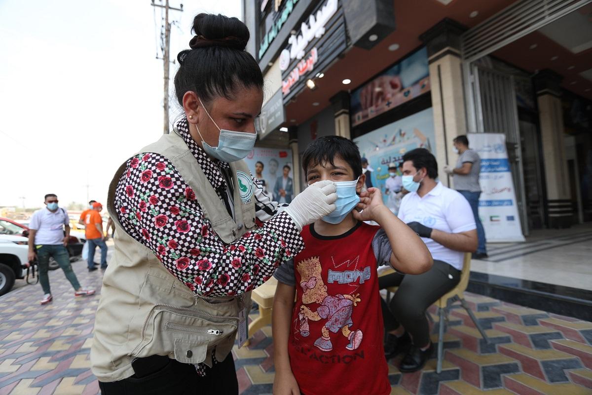 العراق يسجل  وفاة و  إصابات جديدة بكورونا