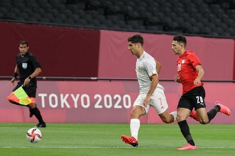نتائج افتتاح منافسات كرة القدم للرجال بـ ;أوليمبياد طوكيو;