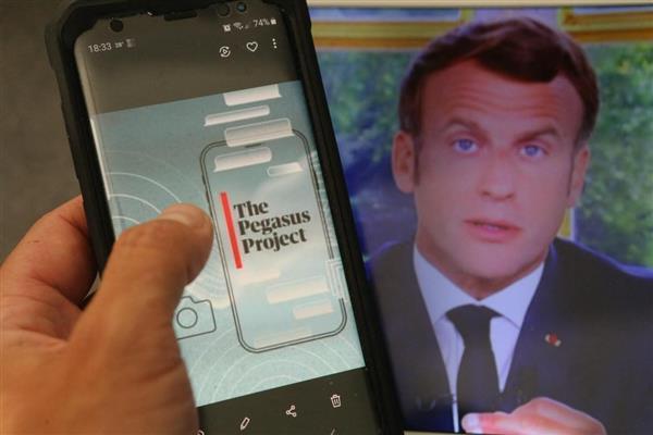 تقرير برنامج بيجاسوس للقرصنة اخترق هواتف خمسة وزراء فرنسيين