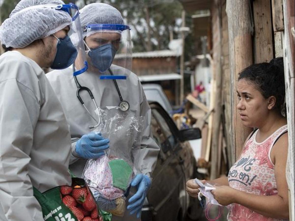 البرازيل تسجل  إصابة و حالة وفاة بكورونا