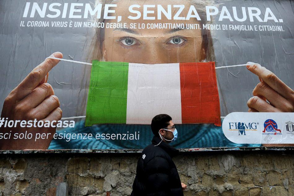 إيطاليا إعطاء  مليون جرعة من لقاحات كورونا حتى الآن