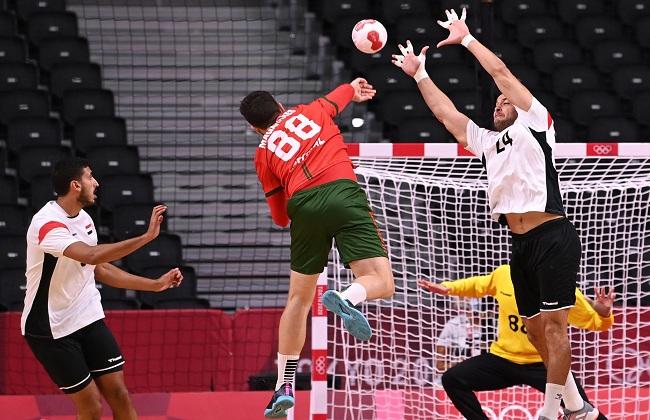 مصر تفتتح منافسات كرة اليد بفوز غال أمام البرتغال بأوليمبياد طوكيو