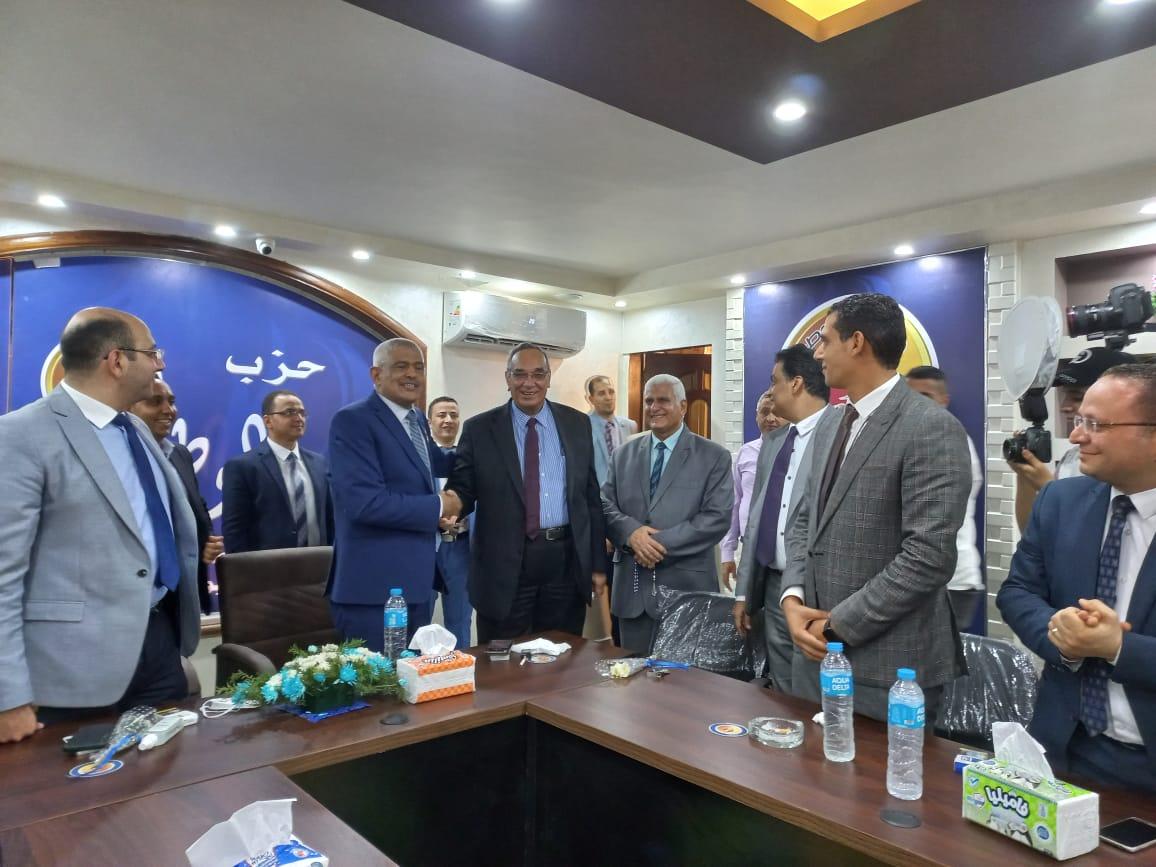 افتتاح المقر الجديد لحزب حماة الوطن في أسيوط