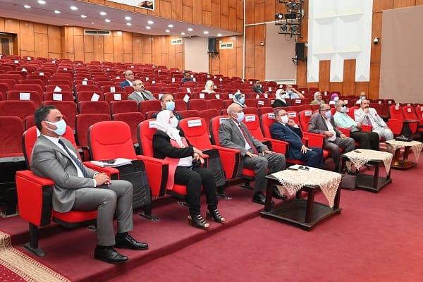 جلسة، مجلس شئون الدراسات العليا والبحوث بجامعة الفيوم