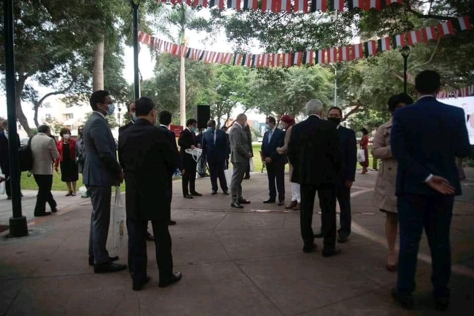 سفارة مصر في البيرو تشارك في احتفالات المئوية الثانية لاستقلالها
