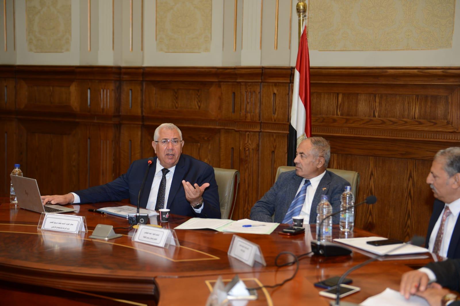 اجتماع لجنة الدفاع والأمن القومي بمجلس النواب