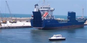 تصدير--طن-ملح-إلى-بلغاريا-عبر-ميناء-العريش--