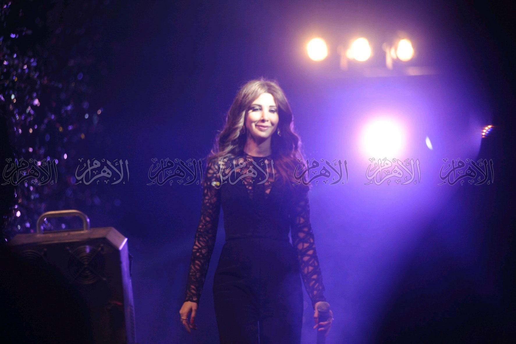 نانسي عجرم تحتفل بزفاف شقيقها