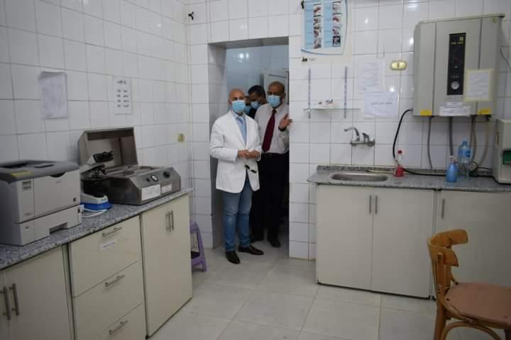 وكيل الصحة يتفقد أقسام مستشفى فاقوس المركزي