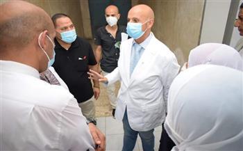 وكيل الصحة بالشرقية يتفقد أقسام مستشفى فاقوس المركزي | صور